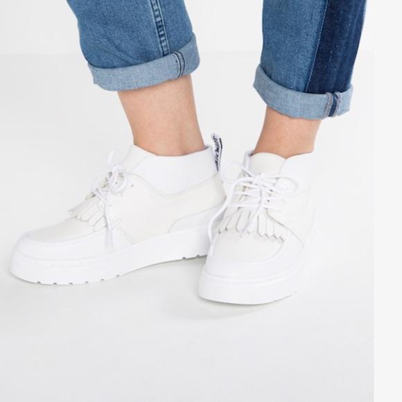 Bestellung neue bilder von unschlagbarer Preis NEW • Dr. Martens • Jemima Ankle Boots White 8.5 NWT
